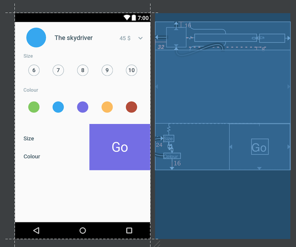 From design to android, part 1 · Saúl Molinero